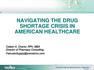 Navigating the Drug Shortage Crisis in American Healthcare