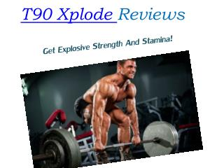 Does T90 Xplode Reall Helps Boosts Endurance?