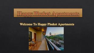 Happy Phuket Apartments in Thailand