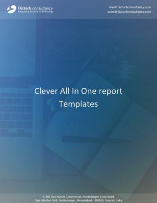 Odoo Clever All In One Report Templates App, Manage Multiple Store Reports