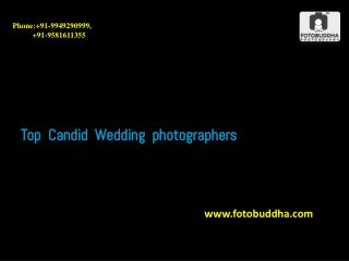 Top Candid Wedding photographers in hyderabad