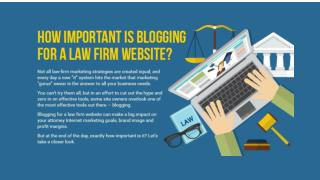 How Important Is Blogging for a Law Firm Website?