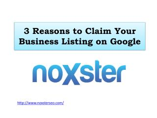 3 Reasons to Claim Your Business Listing on Google