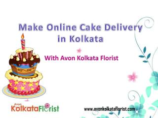 Make an Online Cake Delivery in Kolkata