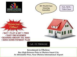 Invest in Dholera – near International Airport