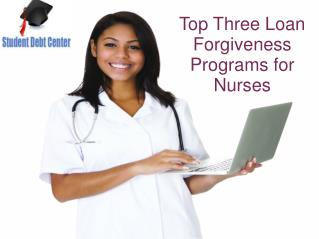 Loan Forgiveness for Nurses