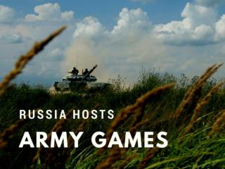 Russia hosts army games