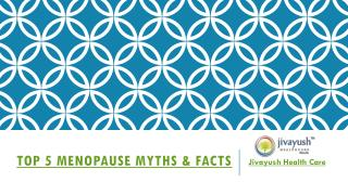 Top 5 menopause myths vs reality - Viebien Menopause Support