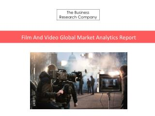 Film And Video GMA Report 2016-Table of Contents