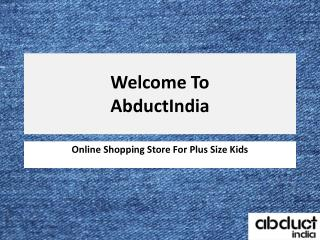 Plus Size Clothing For Boys