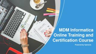 Online MDM Informatica Training Tutorials and Certification Courses