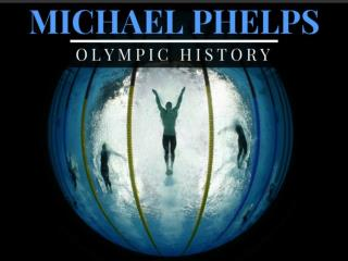 Michael Phelps' Olympic history