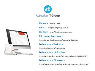 Award Winning IT Support Company in Melbourne