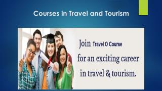 Tour and Travels Courses in Delhi