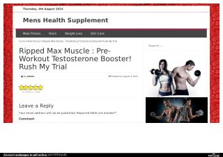 http://www.menshealthsupplement.info/ripped-max-muscle/
