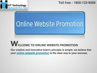Online Website Promotion