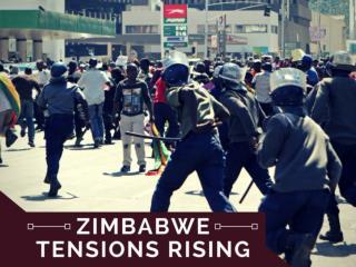 Zimbabwe tensions rising