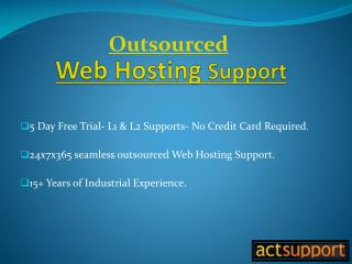 100% White Label Hosting Support