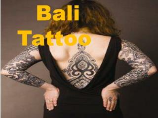 Latest Design Of Bali Tattoo