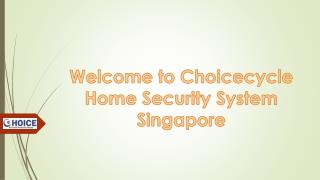 Wireless CCTV Home Security System Singapore