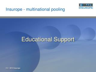 Insurope - multinational pooling
