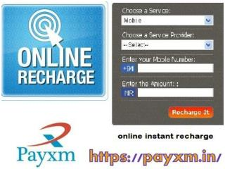 Payxm - Online Mobile Recharge