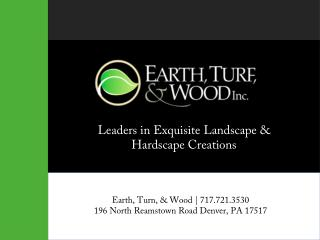 Earth Turf and Wood