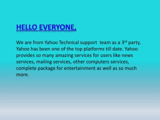 Yahoo Mail Reset Password Support Phone Number 1-888-411-1123