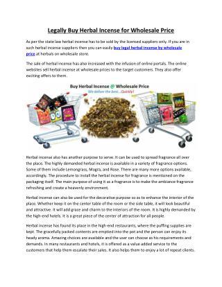 Buy Herbal Incense Wholesale Price – Herbal Incense