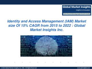 Identity and Access Management (IAM) Market size likely to exceed revenue of USD 26 billion, at 15% CAGR from 2015 to 20