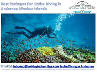 Best Packages For Andaman Scuba Diving in India