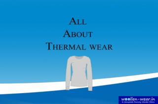 A Complete Guide on Thermals