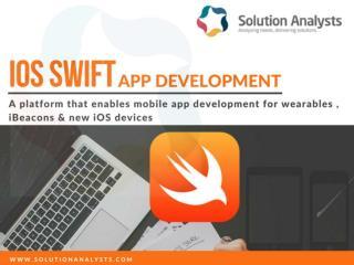 iOS Swift App Development Company, Hire Expert Swift Developers