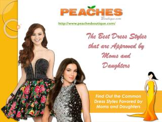 Choosing The Best Prom Gown To Please Both The Parents And Daughter