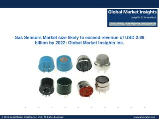 Gas Sensors Market size likely to exceed revenue of USD 2.89 billion by 2022