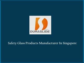 Suppliers of Safety Glass Products