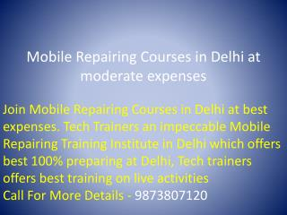 Advance Chip Level Mobile Repair Courses in Delhi NCR