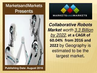 Collaborative Robots Market worth 3.3 Billion USD by 2022
