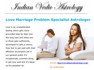 Indian Astrology Consultant in London