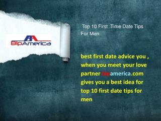 Top 10 First Time Date Tips For Men