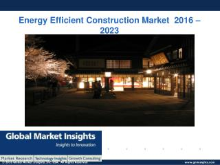 PPT-Energy Efficient Construction Market: Global Market Insights, Inc.
