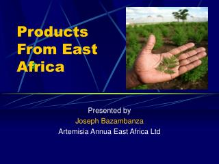 Products From East Africa