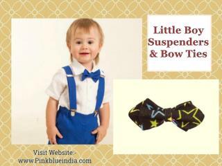 Baby Boy Suspenders   Kids Bow Ties India