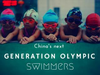 China's next generation Olympic swimmers