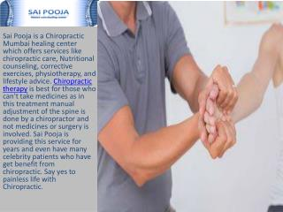 back pain neck pain mumbai | Sai Pooja Clinic