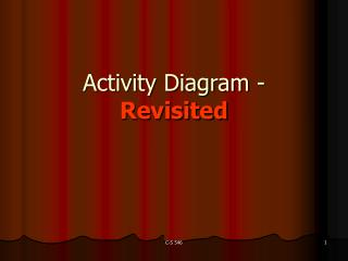Activity Diagram -  Revisited