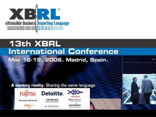 XBRL regulatory reporting to the Securities Commission of Spain    Jos  M. Alonso Comisi n Nacional del Mercado de Valor