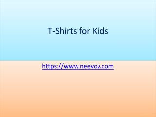Red Colour Kids T Shirts with Graphic Design