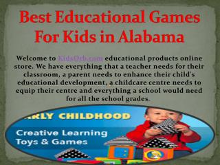 Best Educational Games For Kids in Alabama